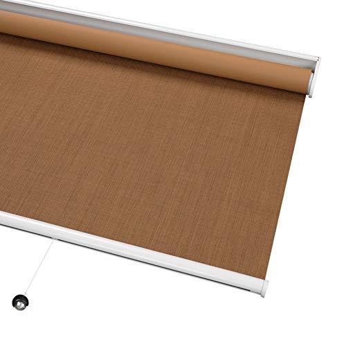 WUFENG-Thermo Rollo Verdunklungsrollo Schnurlos Blackout Rollos Schatten Mit Federsystem, Thermal Raumverdunkelung zum Fenster Verwendung In Innenräumen, Anpassbare (Color : A, Size : 150cmx200cm)