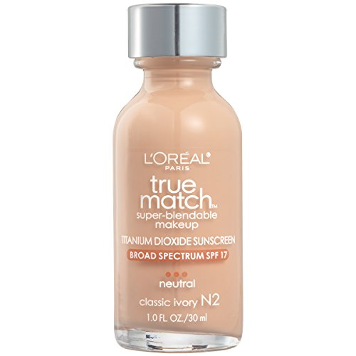 L'Oreal Paris True Match Super-Blendable Makeup, Classic Ivory, 1 fl. oz.