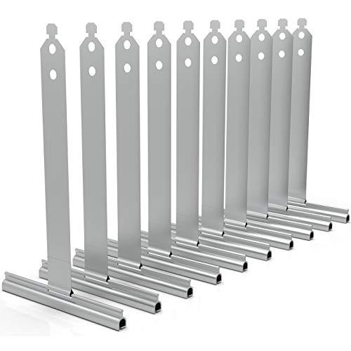 markiso | Rolladen Aufhängefeder Sicherungsfeder Stahlfeder Rollladen Aufhängung | Mini Lamellen (Miniprofile) ► 10 Stück