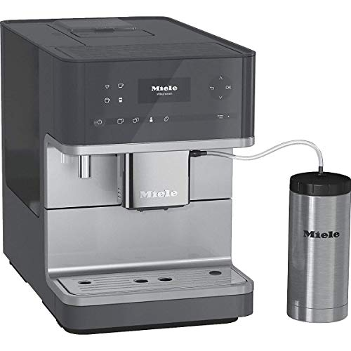 Miele CM6350 Graphite Grey Countertop Coffee Machine, Medium