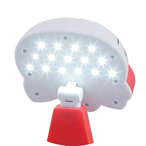 『カクセー ハローキティ LEDライト レッド 731450』の5枚目の画像