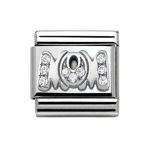 Nomination Composable Classic Women's Charm 925Silver Zirconia–330316/07