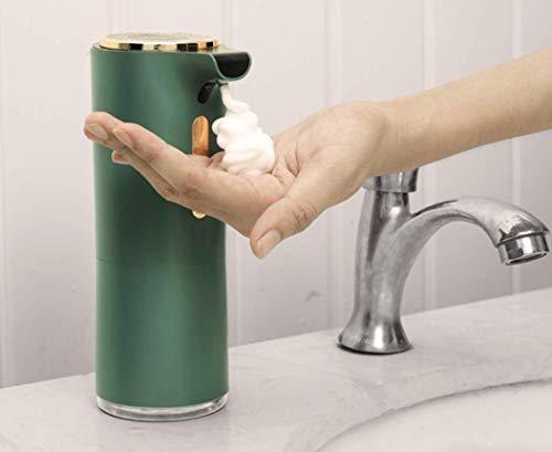 El nuevo tipo de espuma de inducción automática dispensador de jabón por infrarrojos Smart Bubble Machine Dispensador de espuma para baño y cocina, dispensador automático de desinfección de manos
