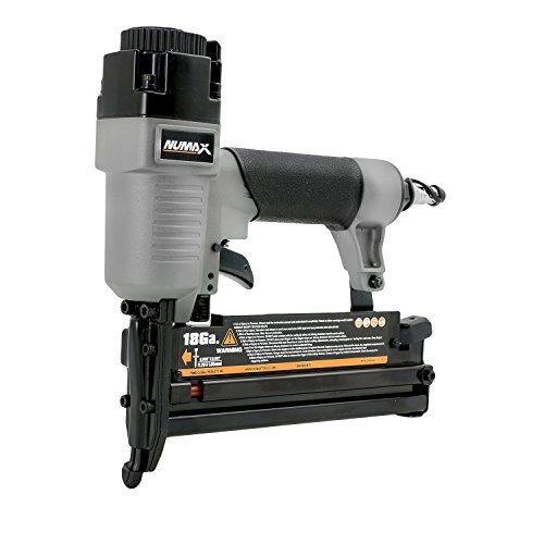 NuMax SL31 Pneumatic 3-in-1 16-Gauge and 18-Gauge 2' Finish Nailer and Stapler Ergonomic and Lightweight Nail Gun with No Mar Tip for Finish Nails, Brad Nails, and Staples