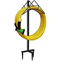 Artigarden Free Standing Metal Water Flexible Pipe Hose Stand