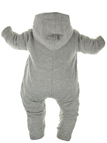 Gennadi Hoppe Baby Jumpsuit – Overall, hellgrau - 2
