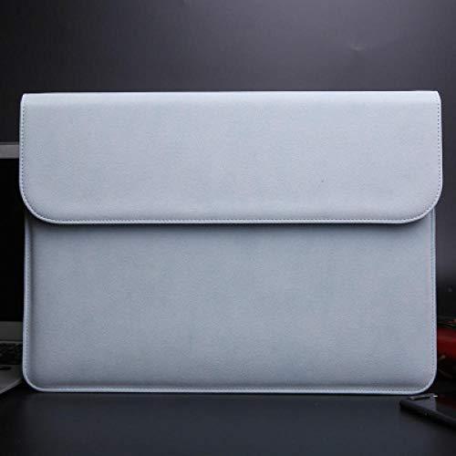 Gemakkelijk te dragen en grote capaciteitMatte magnetische gesp PU Laptop Sleeve Bag Voor Xiaomi Macbook Pro 13 Case Air 11 12 Retina 2018 Nieuwe 15 Touch Bar Vrouwen Mannen Cover 2018 Air 13 A1932 Blauw
