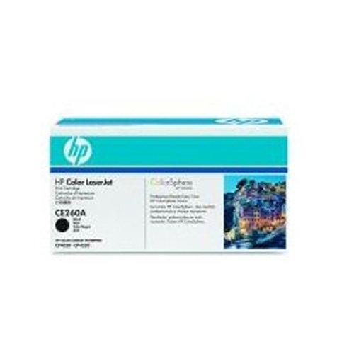 HP CE260A - 647A - CE260A - 1 x Black - Toner cartridge - For Color LaserJet Enterprise CM4540, CP4025, CP4525