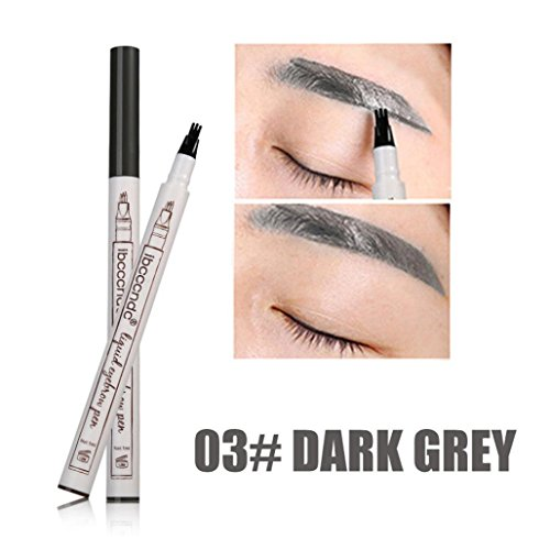 Fulltime 1PC 2018 New sourcil tatouage stylo imperméable à l'eau pointe croquis stylo maquillage Microblading Ink Sketch (C)