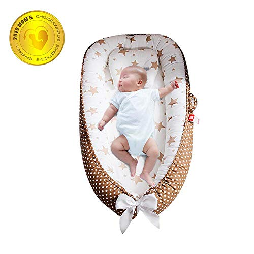 Find Bargain FOONEE Baby Lounger Nest Portable Crib and Bassinet Perfect for Co Sleeping,Super Soft ...