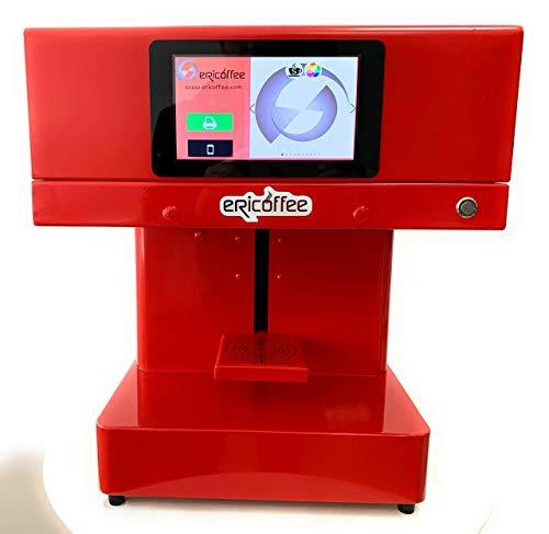 Impresora ERICOFFEE DE Espuma DE Cafe O Cerveza Y Otros Alimentos SOLIDOS. Producto Y Patente ESPAÑOLA.
