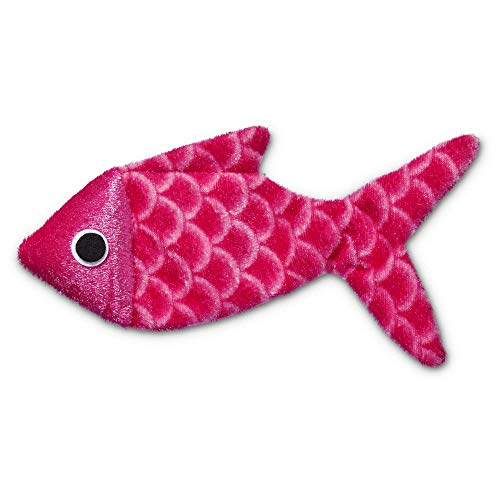 Leaps & Bounds Crinkle Fish Cat Toy, One Size Fits All, Assorted