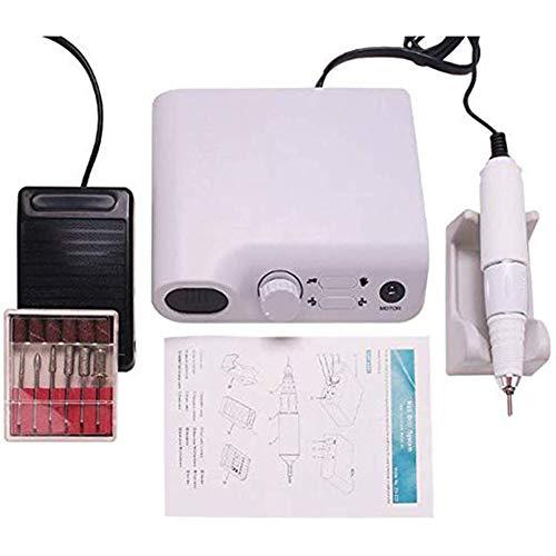 BHHT Eléctrica del Taladro del Clavo del Archivo de la máquina de Pedicure Kit for uñas de acrílico del Clavo del Gel Acristalamiento Arte Pulidora Establece Personal de Bricolaje manicura