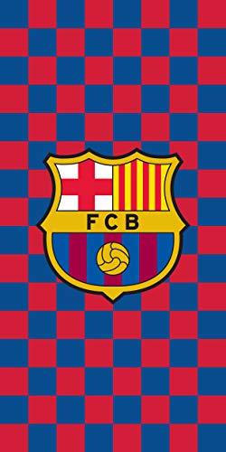 FCB FC Barcelona Strandtuch - Beach Towel - Serviette de Plage - Toalla de Playa - telo Mare FCB192021-R