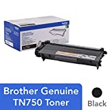 Brother TN-750 DCP-8110 8150 8155 8250 HL-5440 5450 5470 6180 MFC-8510 8520 8710 8810 8910 8950 Toner Cartridge (Black) in Retail Packaging