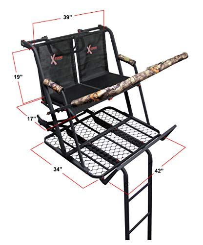 X-Stand Treestands The Jayhawk 20' Two Man Ladderstand