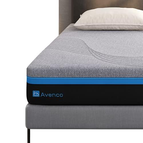 Avenco マットレス ダブル 低反発マットレス ベッドマットレス こだわり中材 ベットマット ダブルマットレス 極厚21cm 圧縮梱包 通気性いい カバー洗濯可 140*195*21cm