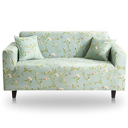 NOBCE Funda de sofá elástica de Color sólido para Sala de Estar Fundas de sofá de Esquina seccionales elásticas universales de Estilo L 235-300CM