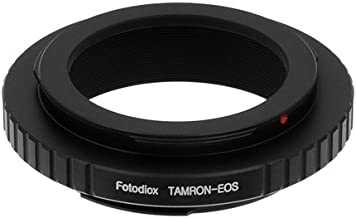 Fotodiox Tamron Adaptall II Lens Adapter for Canon EOS, fits Canon EOS 1D, 1DS, Mark II, III, IV, 1DC, 1DX, D30, D60, 10D, 20D, 20DA, 30D, 40D, 50D, 60D, 60DA, 5D, Mark II, Mark III, 7D, Rebel XT, XTi, XSi, T1, T1i, T2i, T3, T3i, T4, T4i