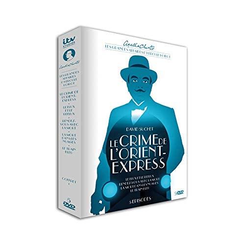 Agatha Christie : Les Grandes Affaires d'Hercule Poirot-Coffret 1 : Le Crime de l'Orient-Express [DVD]