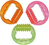 3 Pack (Pink Green Orange) Massage Roller - Silicone+Plastic Manual Round Handle - Massager for Cellulite Blasting Muscle Pain Relief and Muscle Relaxation - for Men and Women