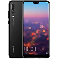 "Huawei P20 Pro – Smartphone de 6,1"" (Kirin 970 AI, 6G de RAM, 128 GB de memoria interna, Triple Cámara Leica) Android, 8.1, Single Sim, Color Negro [Versión española]"