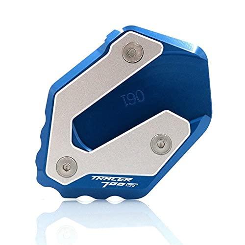 Motocicleta CNC Pata de Cabra Lateral para Yamaha MMT-07 2014-2020 XSR 700 Tracer 700GT 2016-2020 Motorcycle Kickstand Pie de pie Soporte Soporte Placa de Soporte