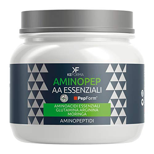 KEFORMA - Aminopep AA Essenziali - 192g - Aminoacidi essenziali e peptidi PepForm