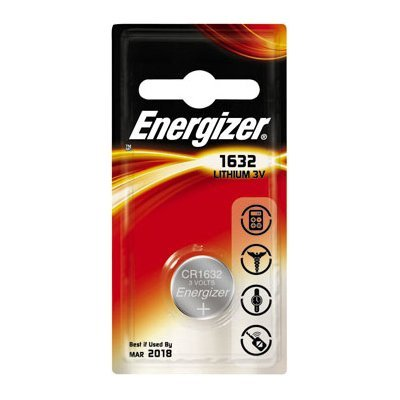 Energizer CR1632–C1 piles bouton Lithium