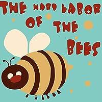 """子供と大人と初心者のための番号によるDIYペイント、ペイントブラシでペイントワークを描くキャンバス油絵ギフトキット、8""""x 8"""",Bee"""