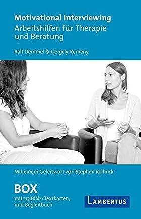 Motivational Interviewing Box mit Fragekarten: Arbeitshilfen für Therapie und Beratung - Mit Begleitbuch und Geleitwort von Stephen Rollnick