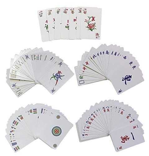 Chinese Traditional MAHJONG/MAH Jong Playing Cards G