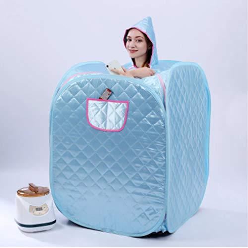 Upupto Tragbare Dampfsauna Spa Persönliche Sauna für Gewichtsabnahme Relaxation Sauna mit Fernbedienungsfummeln