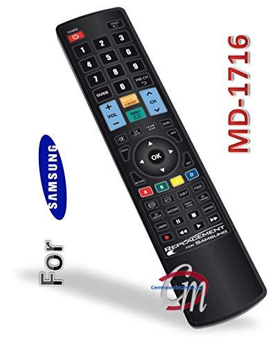G.B.S. Elettronica REPLACEMENT FOR SAMSUNG telecomando IR Wireless TV Pulsanti