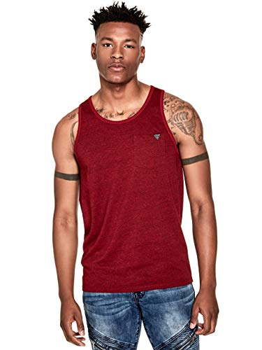 GUESS Factory Men's Roy Marled Tank Top