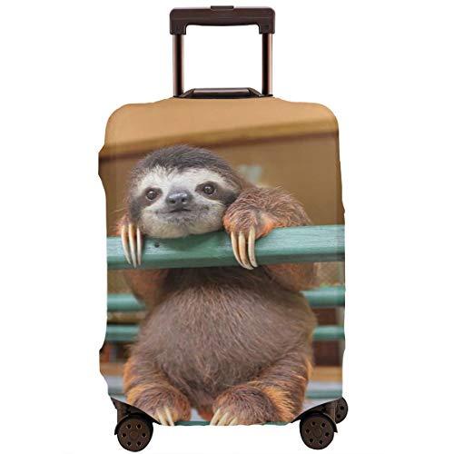 Delerain - Funda para maleta de viaje con cierre de cremallera, diseño 3D