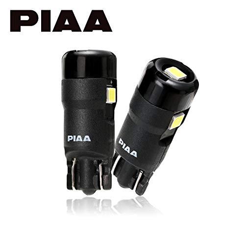 【Amazon.co.jp 限定】PIAA ポジション用 LEDバルブ 6600K 高光度 全方向高拡散LED 1年保証 12V・1.2W・100lm T10 車検対応 2個入 X7362