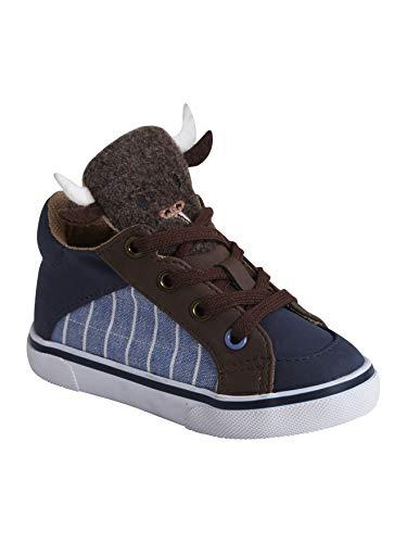 Vertbaudet Mid High Sneakers für Baby Jungen Jeansblau 24