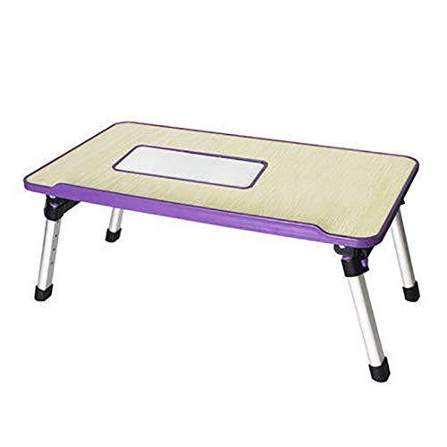 Xiao Jian – klaptafel – laptop kantoor computer bed kantoor slaapzaal studie kantoor Simple Lazy kleine koeltafel opvouwbaar huis – kantoor afmetingen: 520 x 300 mm tafel opvouwbaar D