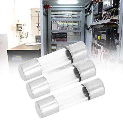 Fusible de vidrio Fusible de vidrio de 5x20 mm Fácil de transportar Buen rendimiento Garantía de calidad Productos eléctricos industriales para productos eléctricos(6A)