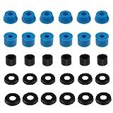 3 set di kit di boccole per skateboard per la maggior parte dei 7 pollici Skateboard Trucks Longboard Truck Boccole Skateboard Cup Rondelle Accessori di Ricambio
