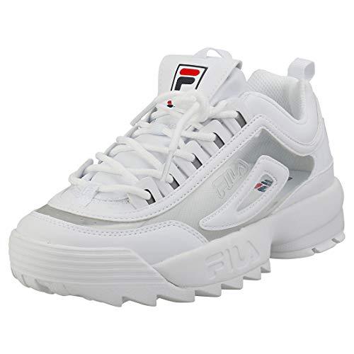 Fila Disruptor II Clear Mujer Blanco Zapatillas-UK 5 / EU 38.5
