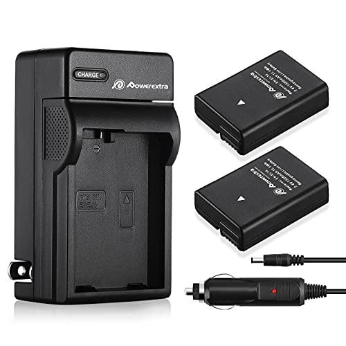 EN-EL14バッテリーEN-EL14a ENEL14a 互換 カメラ バッテリー 2個 + 車載充電器 実容量高 対応機種 Nikon D3100 D3200 D3300 D3400 D3500 D5100 D5200 D5300 D5500 D5600 P7000 P7100 P7700 P7800 カメラ バッテリー