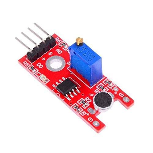 Modulo electronico KY-038 Micrófono de detección del sensor del sonido del módulo Geekcreit for A-r-d-u-i-n-o - productos que funcionan con placas A-r-d-u-i-n-o oficiales 20pcs