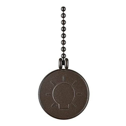 Westinghouse Lighting 7703000 Bulb Pull Chain, Oil Rubbed Bronze