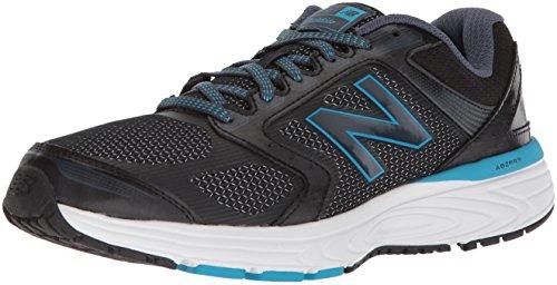 New Balance Zapatillas de Correr Unisex para Adultos 560v7, Negro Azul, 40.5 EU Weit