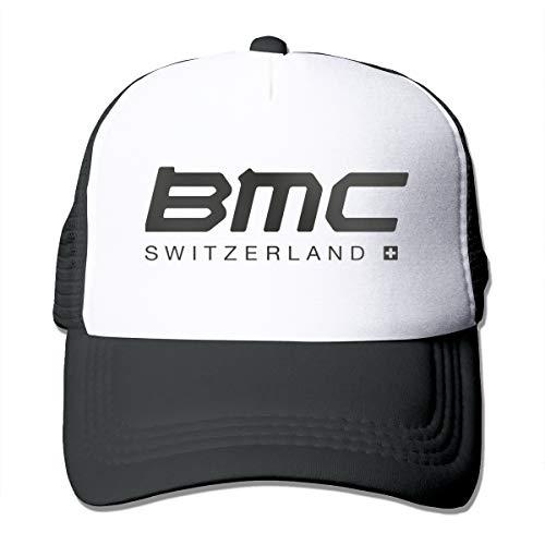 SunHinanime BMC Racing Team Trucker Hatsclassic Unisex Baseball Cap Adjustable Washed Dyed Cotton Ball Hat Black One Size