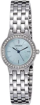 Citizen Mother of Pearl Dial Stainless Steel Ladies Watch