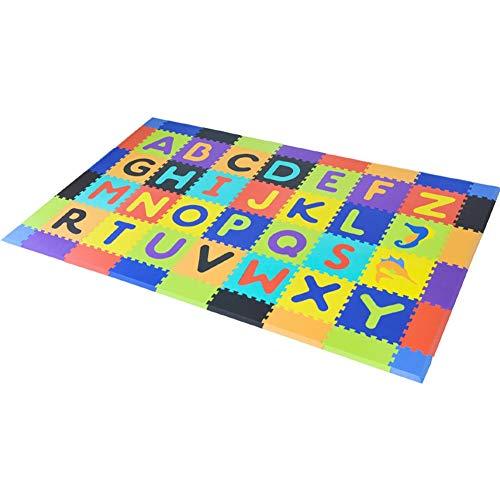 LIQICAI-tapis Enfant Tapis Puzzle en Mousse avec Pièces Emboîtables Donne Aux Enfants Un Endroit Sûr, Doux Et Confortable for Jouer Et Apprendre (Color : B, Size : 28 Pieces)