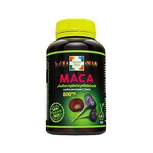 Amazon-Green - MACA ANDINA PREMIUM BIO GELATINIZADA 800 MG 100 CAPSULAS - MACA-ANDINA-100CAP